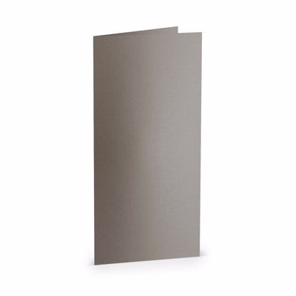 Paperado-Karte DL hd, taupe metallic