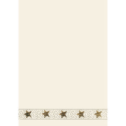 Design-W-Blatt DIN A4- Magic Stars, HF g