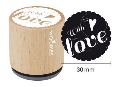 Woodies Stempel With love