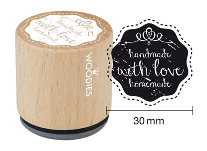 Woodies Stempel handemade with love