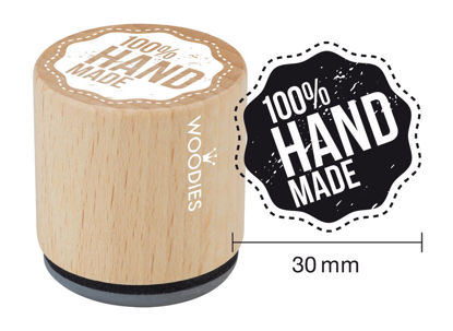 Woodies Stempel 100 % Handmade