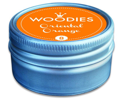 Woodies Stempelkissen Oriental Orange (8
