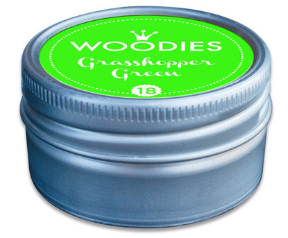 Woodies Stempelkissen Grasshopper Green