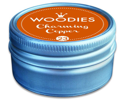 Woodies Stempelkissen Charming Copper (2