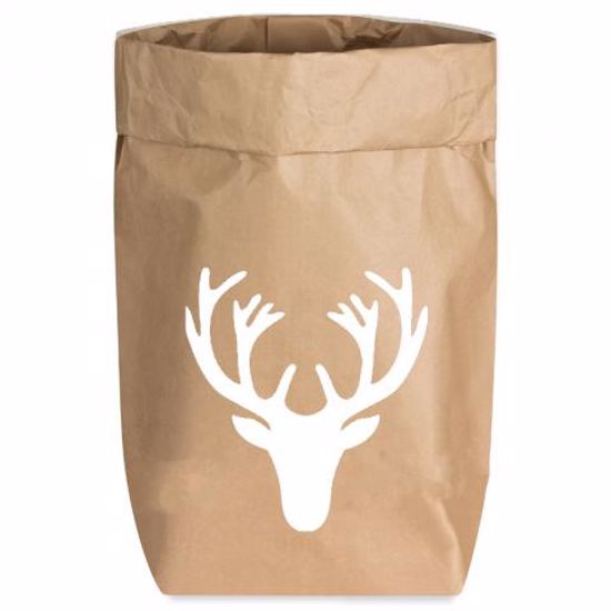 Paperbags Small natur, GEWEIH, weiss1730 - HOME - PSW