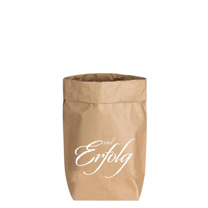 Paperbags Small natur, VIEL ERFOLG, weiss, 1730 - HOME - PSW
