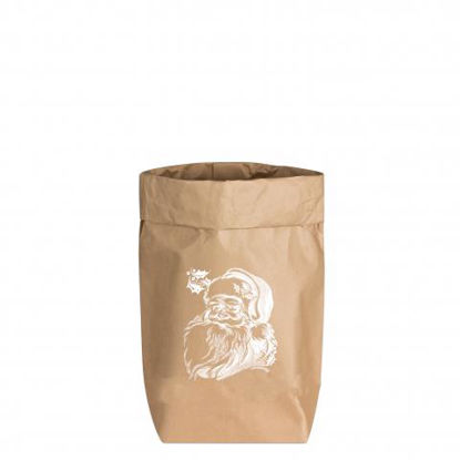 Paperbags Small natur, WEIHNACHTSMANN, w1730 - HOME - PSW