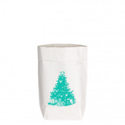 PaperBags Small weiss, WEIHNACHTSBAUM, l1730 - HOME - PSW