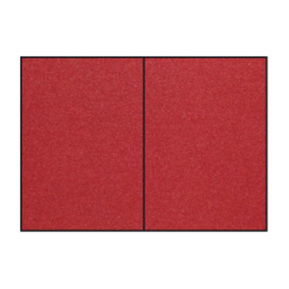Fine Paper - Karte B6 hd-pl.,dark red meetallic