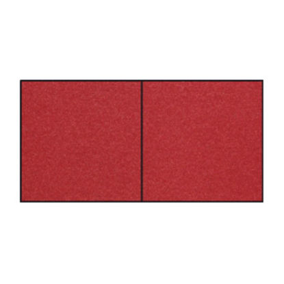 Fine Paper - Karte 117x117mm hd-pl.,darkk red met.