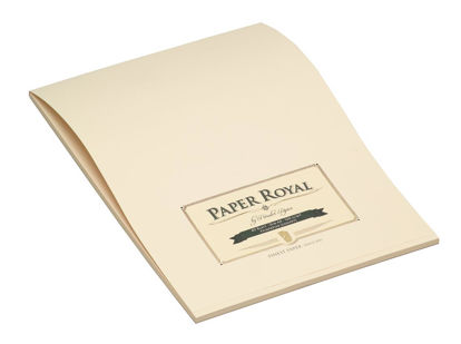 Paper Royal - Block40/DIN A4, chamois