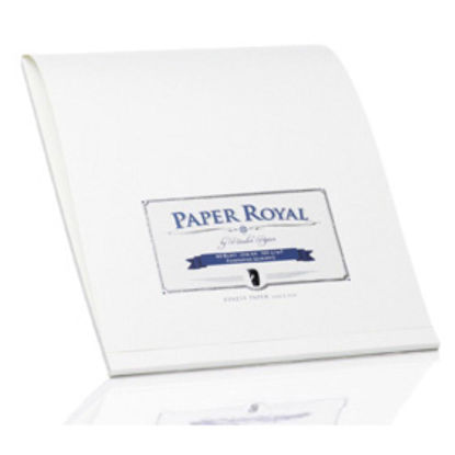 Paper Royal - Block40/DIN A4, weiß