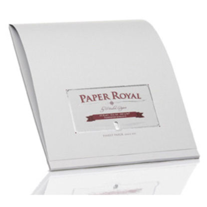 Paper Royal - Block40/DIN A4, eisgrau