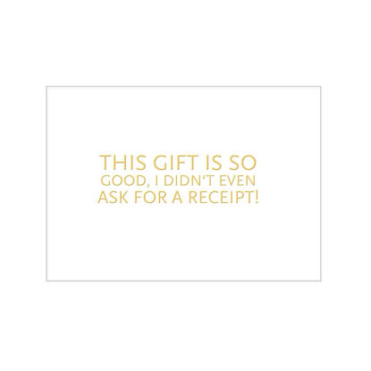 PK quer, THIS GIFT IS SO GOOD, I DIDN'T1730 - PRINTS - CA6
