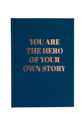 "Tagebuch """"you are the hero"""", Goldprägung / dotted"