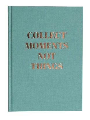 """Tagebuch """"""""collect moments"""""""", Goldprägung / dotted"""