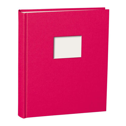Album Medium Finestra pink mit Fenster 8 x 6 cm