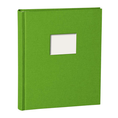 Album Medium Finestra lime mit Fenster 8 x 6 cm