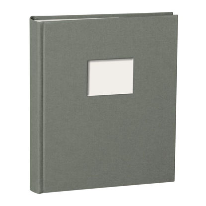 Album Medium Finestra grey mit Fenster 8 x 6 cm