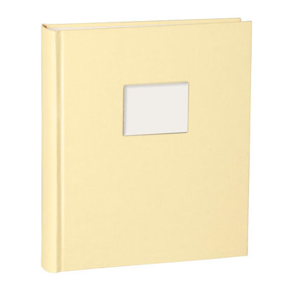 Album Medium Finestra chamois mit Fenster 8 x 6 cm