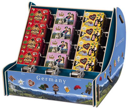 art&music Box Deutschland Touristenbox , 28x26x28cm