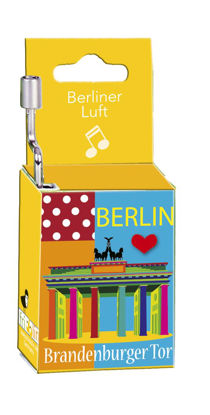 "Music-Box ""Brandenburger Tor"", Melodie:"" 4x8.5x2.5cm"