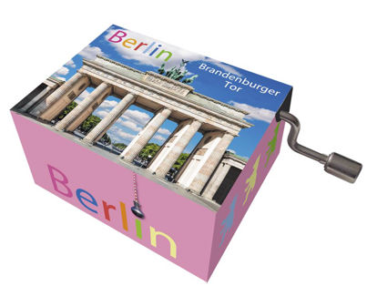 "art&music Berlin ""Brandenburger Tor"", Me 8.3x4.6x3.2cm"