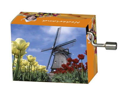 "art&music Holland ""Windmühle"", Love Sto 8.3x4.6x3.2cm"