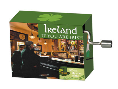 "art&music Irland ""Pub"", Melodie, ""If you 8.3x4.6x3.2cm"