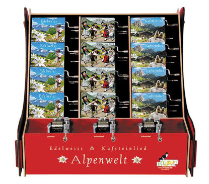DISPLAY, Spieluhren, Alpenwelt sort., 36