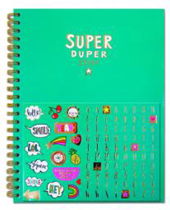 A4 Notebook - Super Duper StuffA4 Notebook