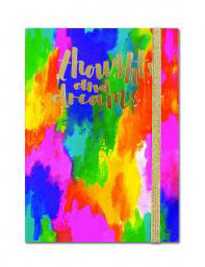A6 Notebook - Thoughts & Dreams Abstract A6 Notebook