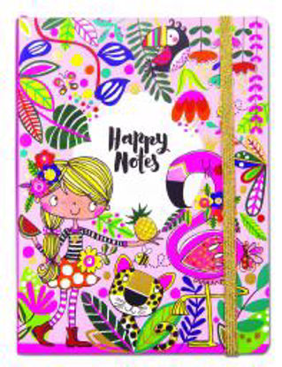 Chunky Notebook - Happy Notes Tropical AChunky Notebook