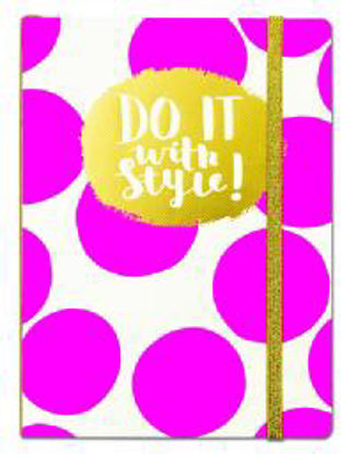 Chunky Notebook - Do It With Style Pink Chunky Notebook