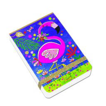 A7 Mini Notepads - Flamingo A7 Mini Notepads