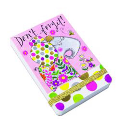 A7 Mini Notepads - Don't Forget Elephant A7 Mini Notepads