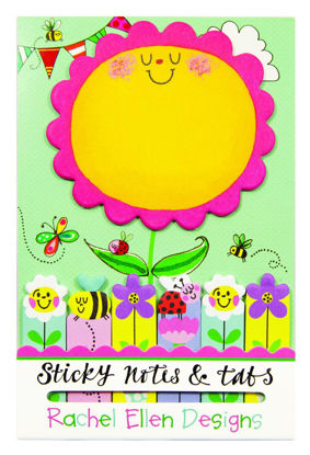 Sticky Notes & Tabs - Flowers, Bee & Lad Sortiment 1-2016