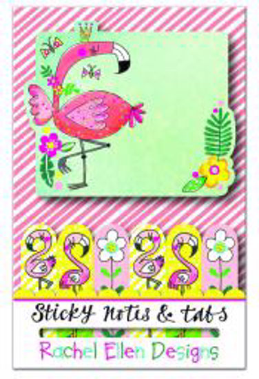 Sticky Notes & Tabs - Flamingo Sticky Notes & Tabs