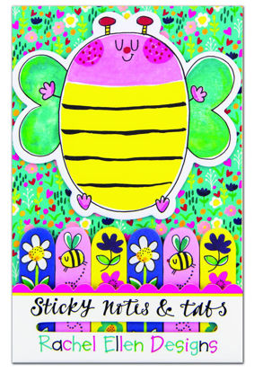 Sticky Notes and Tabs - Bee