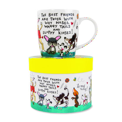 Mug - The best friends are…./Dogs