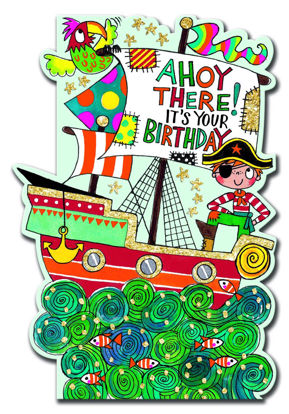 Little Darlings - Ahoy There! Pirate shi Doppelkarte mit Couvert