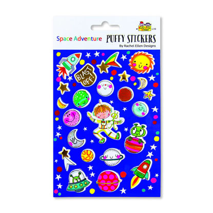 Puffy Stickers - Space Adventure