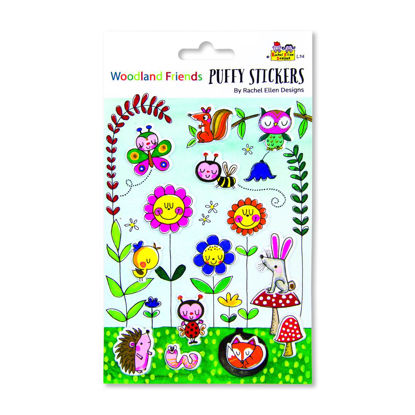 Puffy Stickers - Woodland Friends
