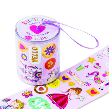Rolls of Stickers - Magical Princess