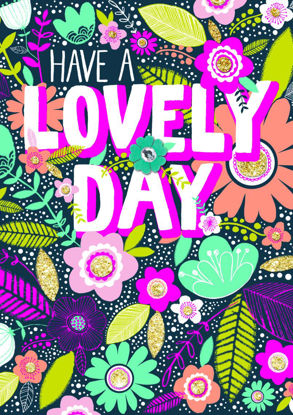 Hello Peachy - Lovely Day/Floral Doppelkarten 108x153mm mit Couvert