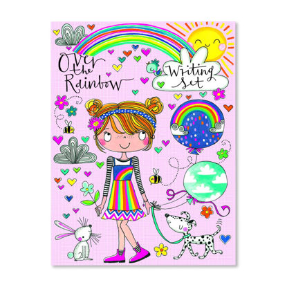 Writing Set Wallet - Over the Rainbow