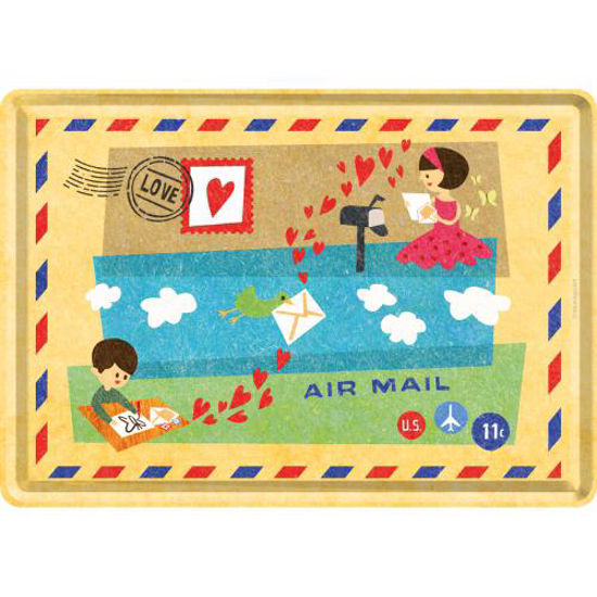 Air Mail Happy Together / Metal Card 10x14 / A400