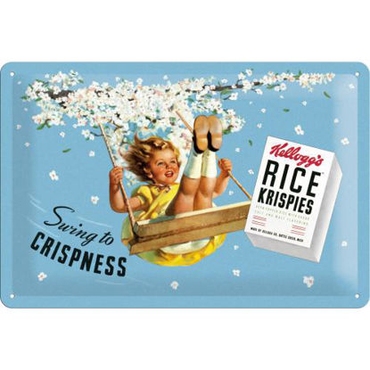 Kellogg's Swing to CrispnessKellogg's / Tin Sign 20x30 / A402