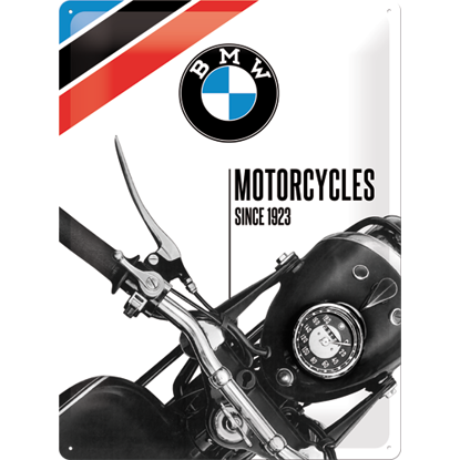 BMW - Motorcycles Since 1923, BMWTin Sign 30x40 / A403