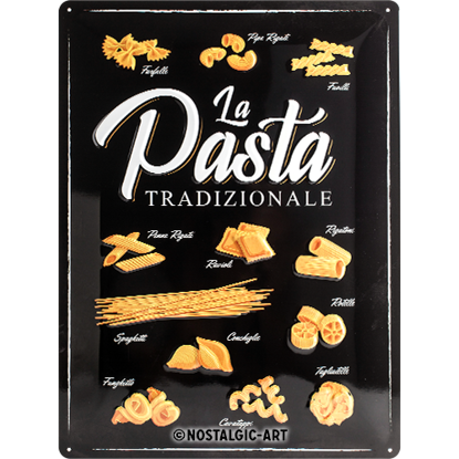 Pasta Tradizionale, Home & Country, Tin Sign 30 x 40cm/A403